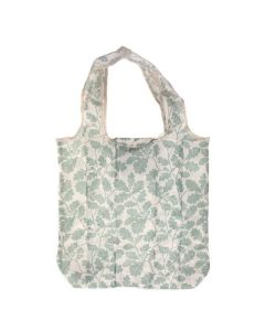 Recycled Packable Shopper, Alfriston Clergy House Oak Leaf, Khaki