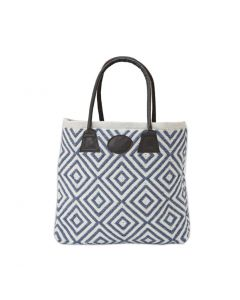 Weaver Green Shopper Bag, Oslo Navy