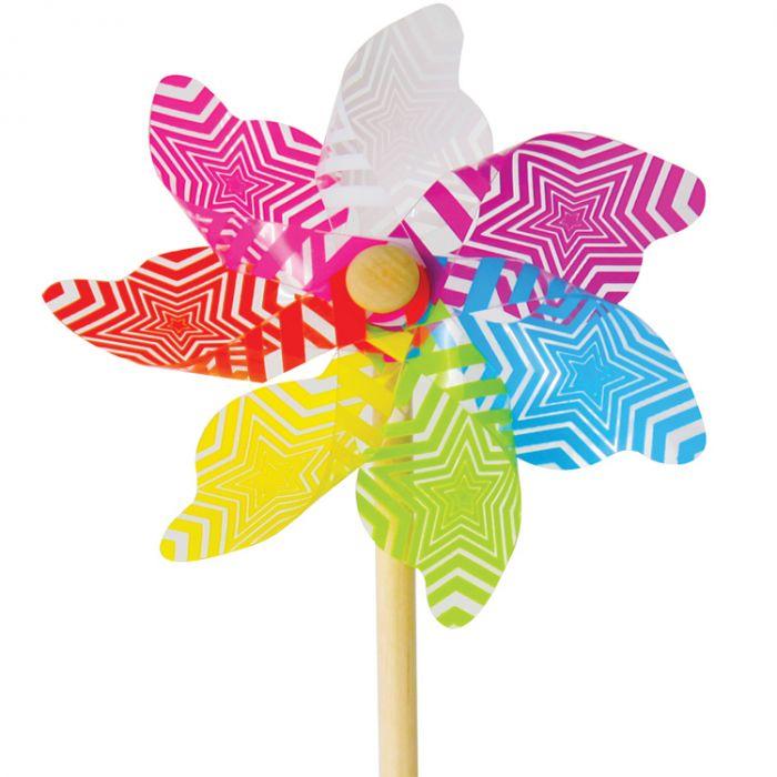 Multicoloured Garden Windmill