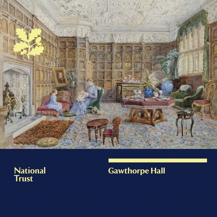 National Trust Gawthorpe Hall Guidebook