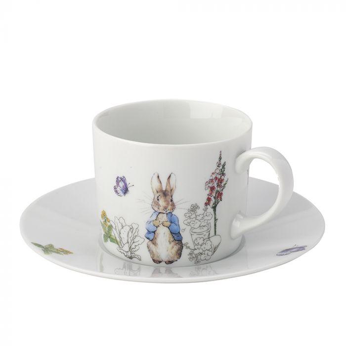 Beatrix Potter Peter Rabbit Classic Cup & Saucer Set