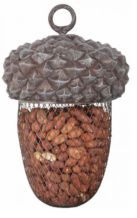 Acorn Bird Feeder with 200g Nuts