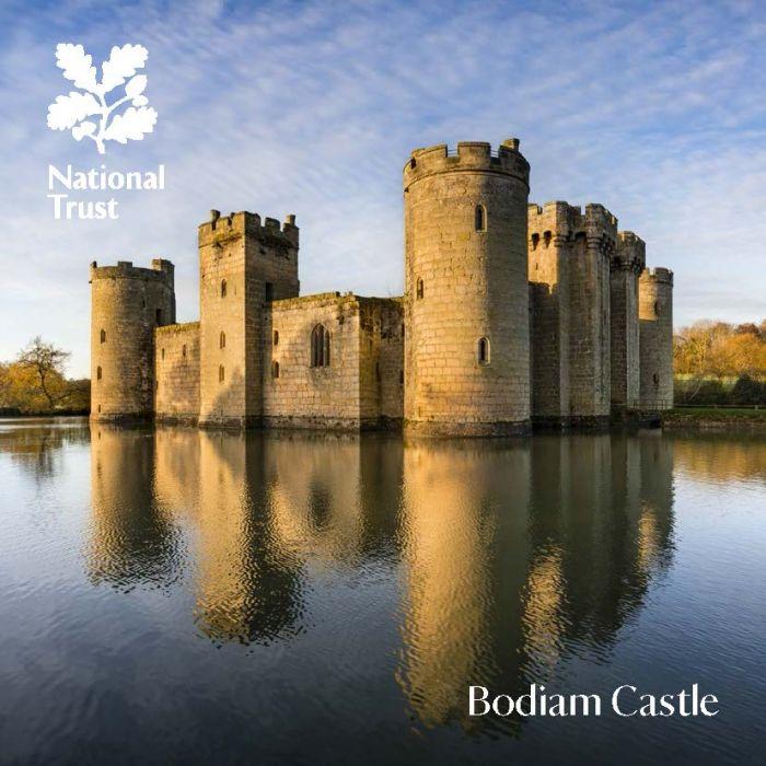 National Trust Bodiam Castle Guidebook