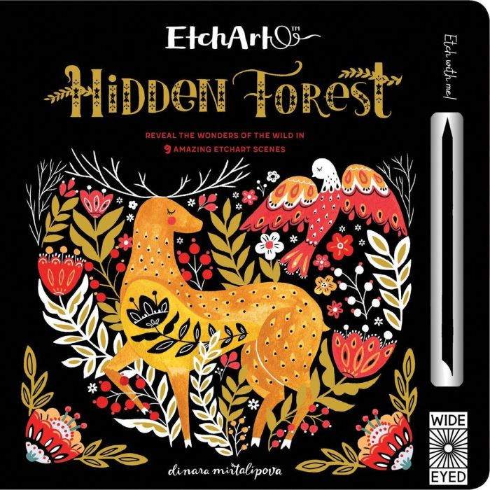 Etch Art: Hidden Forest