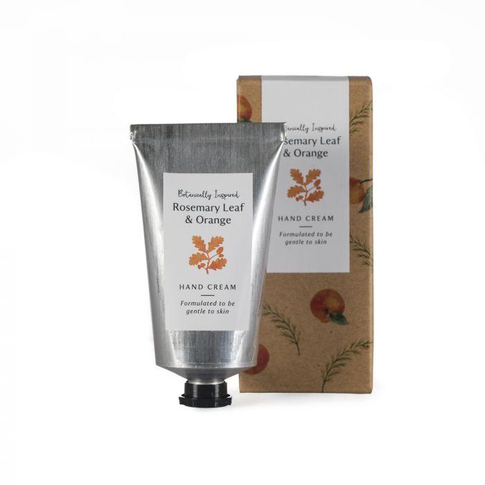 National Trust Rosemary Leaf and Orange Hand Cream Tube, 75ml