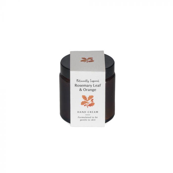 National Trust Rosemary Leaf and Orange Hand Cream Jar, 100ml