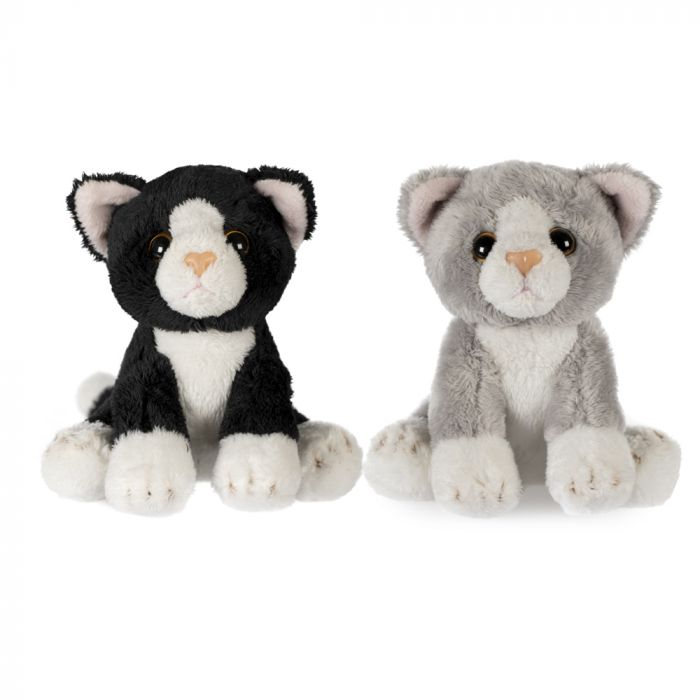 Small Cat Soft Toy, Assorted