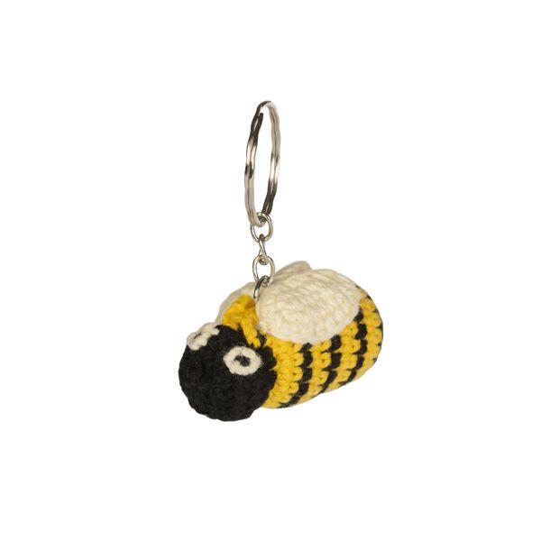 National Trust Crochet Bumblebee Keyring