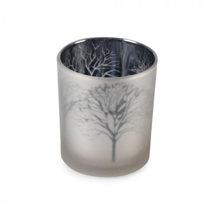 Silver Tree Tealight Holder, Large