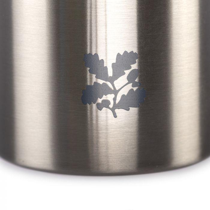 National Trust Stainless Steel Silver Bottle, 500ml