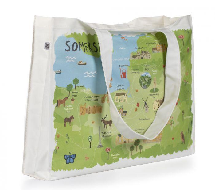 National Trust Somerset Canvas Bag