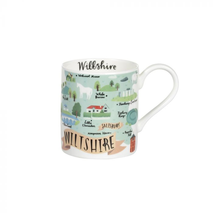 National Trust Wiltshire Mug