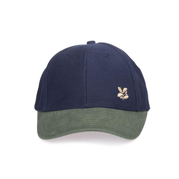 National Trust Baseball Cap, Navy/Forest
