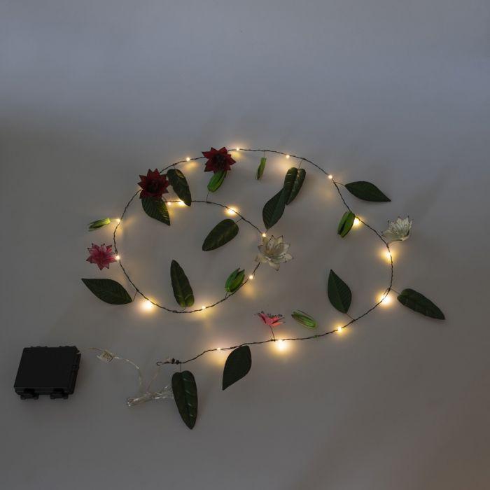 Clematis LED Lights Garland