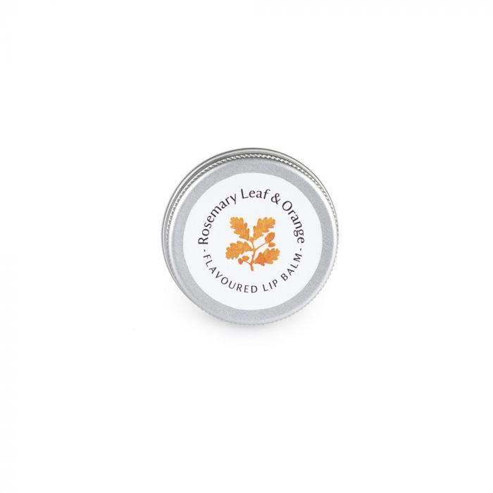 National Trust Rosemary Leaf and Orange Lip Balm, 15g