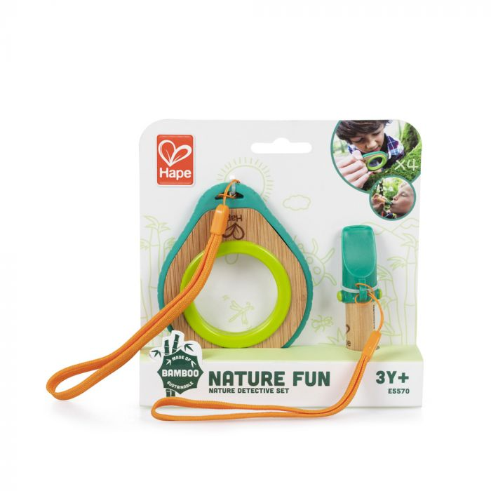 Nature Detective Magnifying Glass and Whistle Set