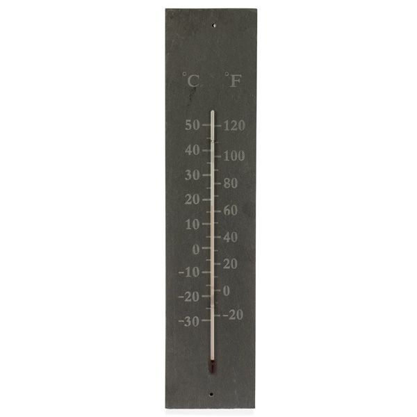 Outdoor Slate Thermometer