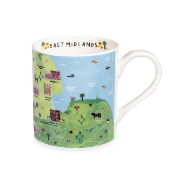 National Trust East Midlands Mug