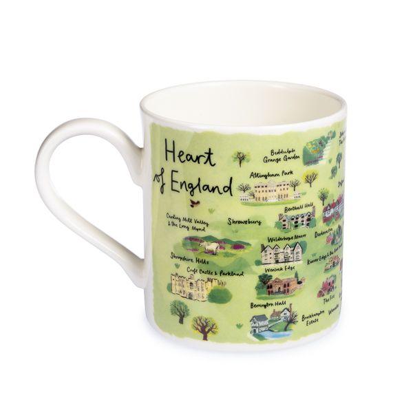 National Trust Heart of England Mug
