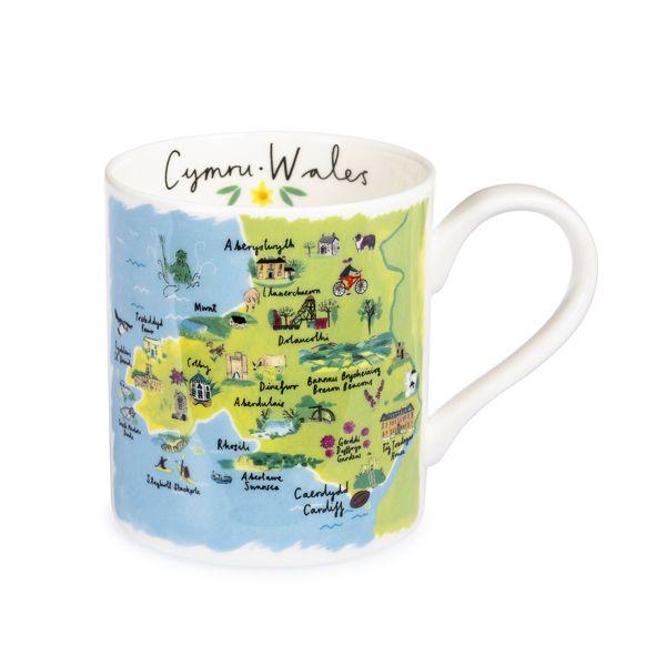 National Trust Regional Mug, Wales
