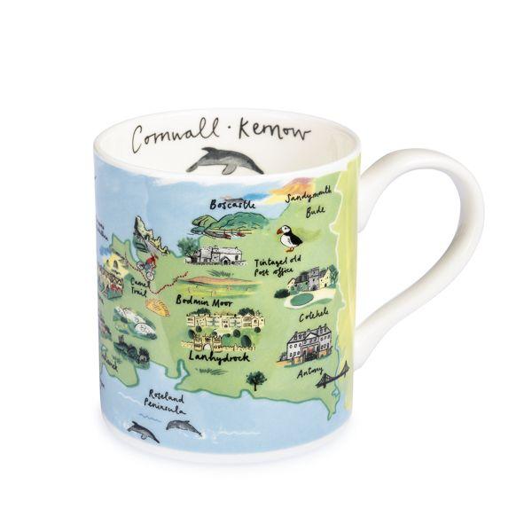 National Trust Cornwall Regional Mug