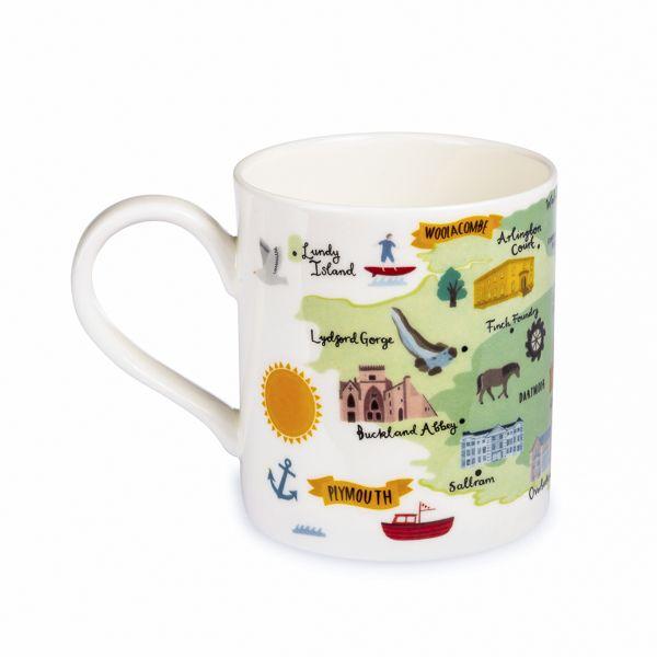 National Trust Regional Mug, Devon
