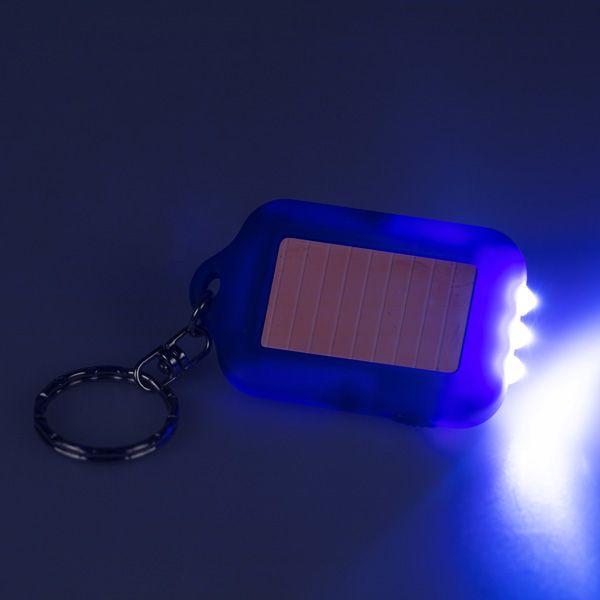 National Trust Solar Torch Keyring, Blue