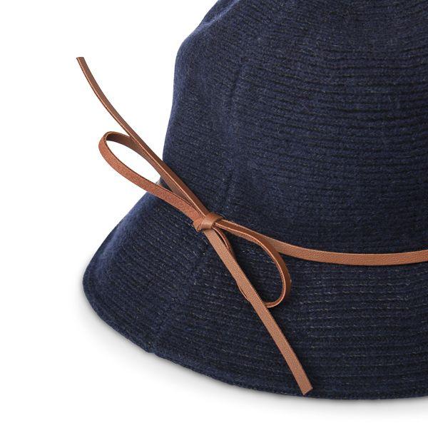 Women's Cloche Hat, Navy