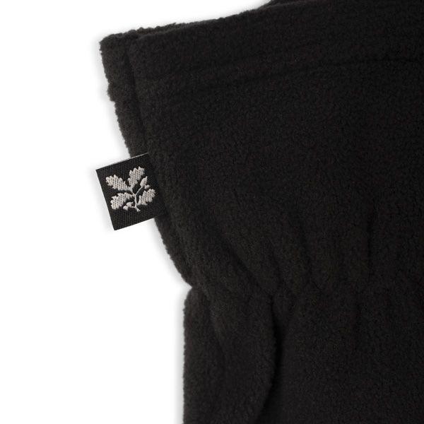 Fleece Gloves, Black