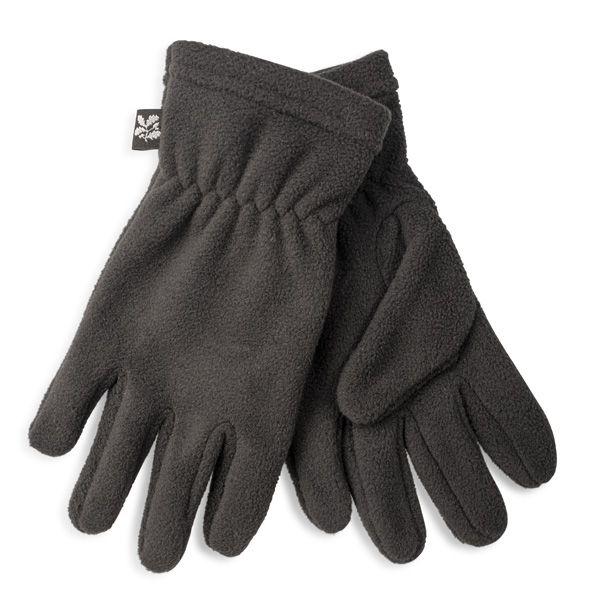Junior Fleece Gloves, Black