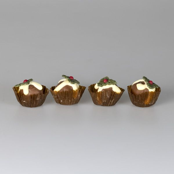 National Trust Christmas Pudding Flavour Truffles