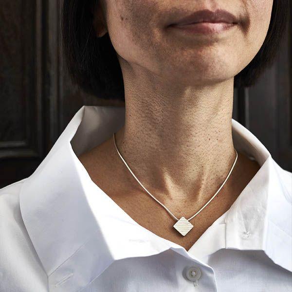 Julie Bailey Square Pendant Necklace