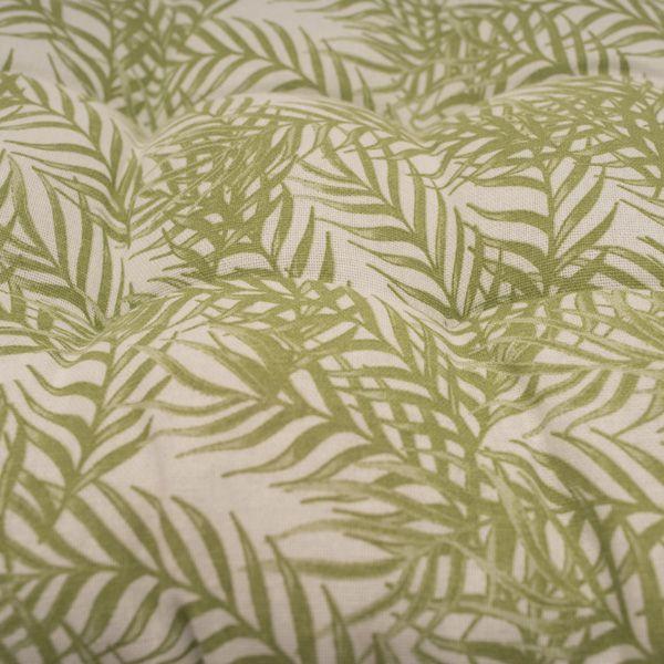 Fern Pattern Bench Cushion