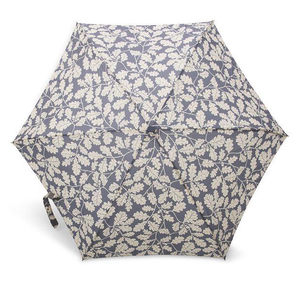 National Trust Mini Compact Umbrella, Alfriston Clergy House Oak Leaf