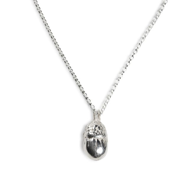 Love Scarlet, Sterling Silver Acorn Pendant Necklace