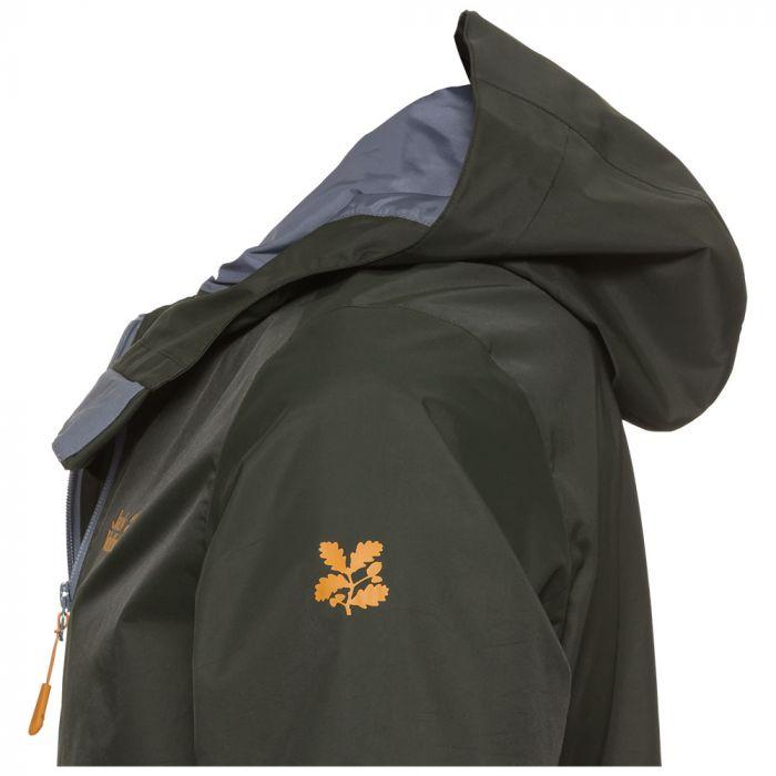 National Trust Jack Wolfskin Men's Buttermere Jacket, Malachite