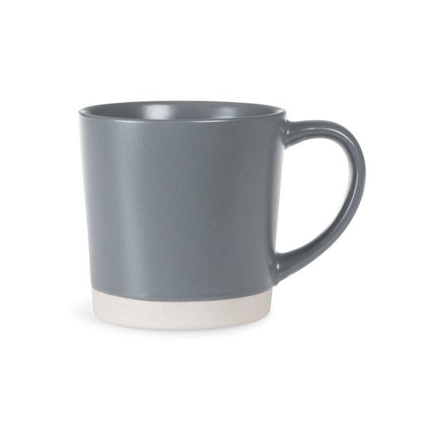Stoneware Mug, Elephant Grey