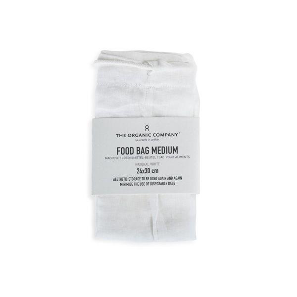 Food Bag, Medium, White