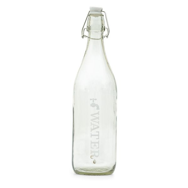 Large Glass Water Bottle