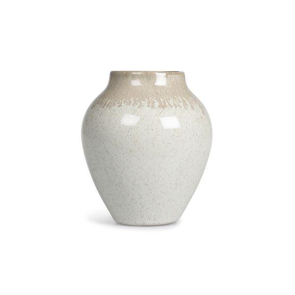 Alma Vase, Natural/Grey