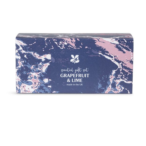 National Trust Grapefruit and Lime Scented Gift Set