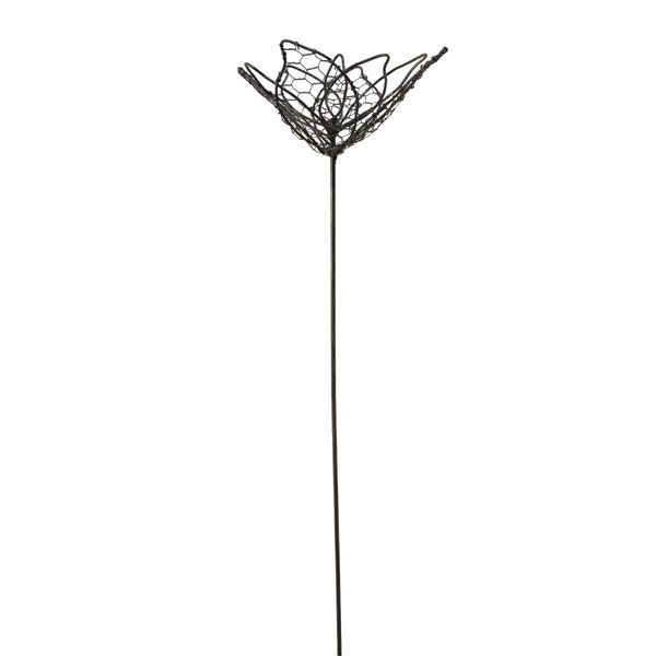 Mesh Wire Plant Stake,  Flower