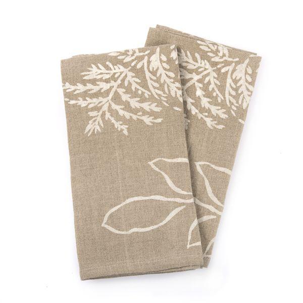 Nymans Foliage Fabric napkins, Set of 2