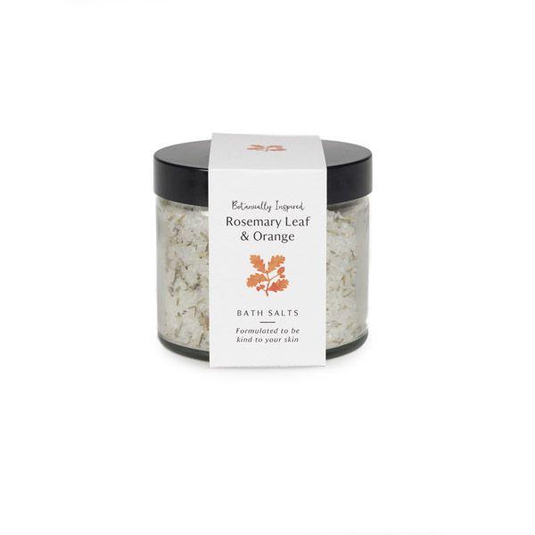 Rosemary Leaf and Orange Bath Salts 300g