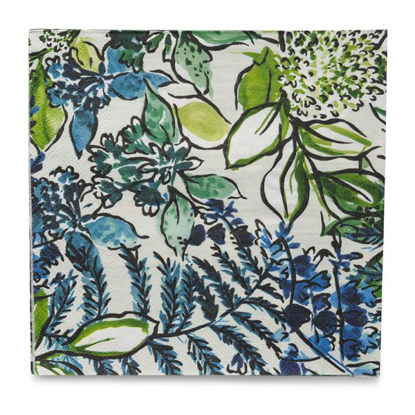 Nymans Foliage Paper Napkins, Lunch