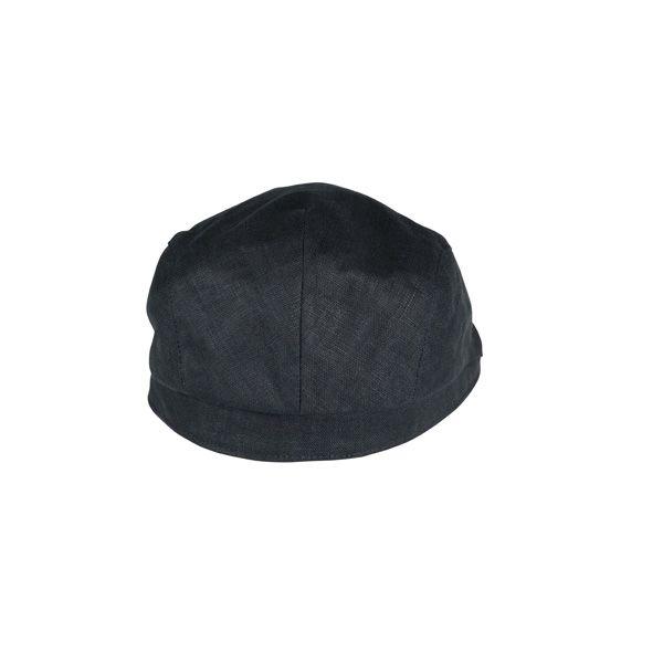 Men's Linen Flat Cap