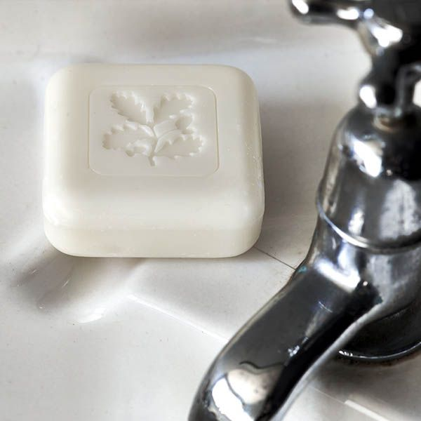National Trust Rhubarb Flower Wrapped Milled Soap