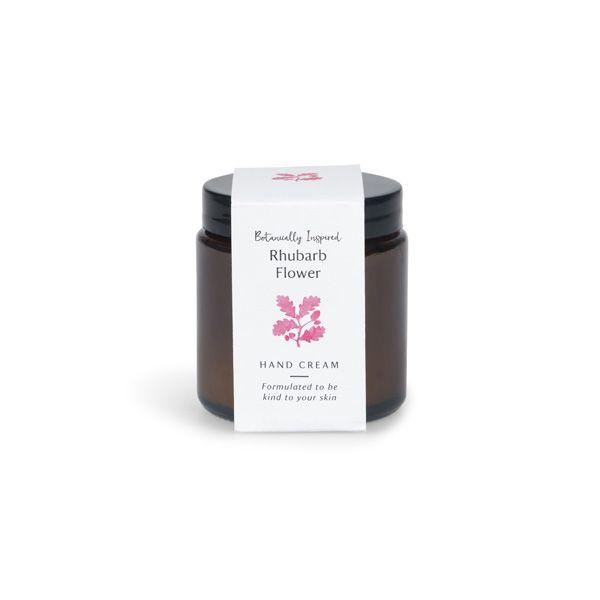 National Trust Rhubarb Flower Hand Cream Jar, 100ml