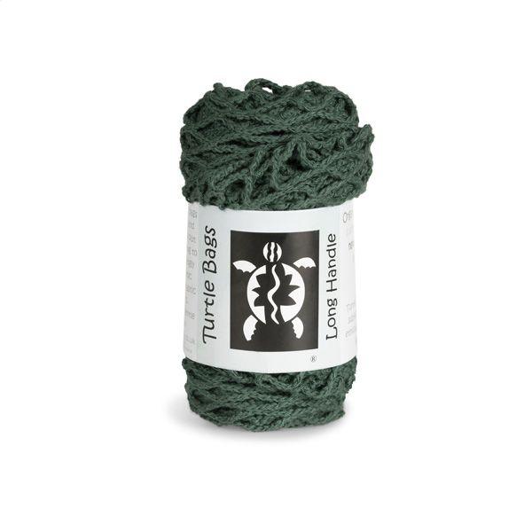 Turtle Bags Organic Cotton Long-Handled String Bag, Green