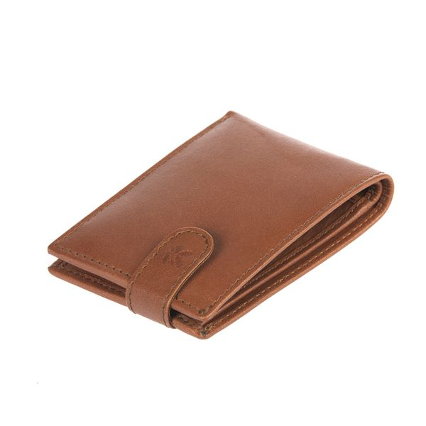 Leather Wallet, Brown